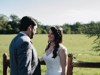 El matrimonio de Aline y Daniel