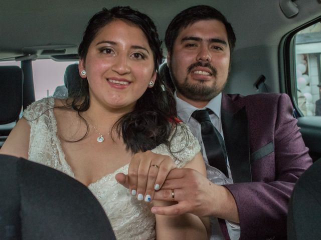 El matrimonio de Luz y Esteban