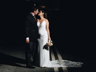 El matrimonio de Daniela y Christian