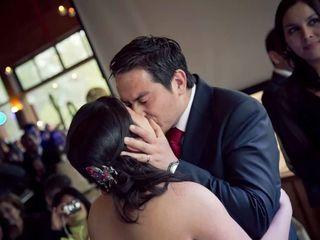 El matrimonio de Genaro y Tricia