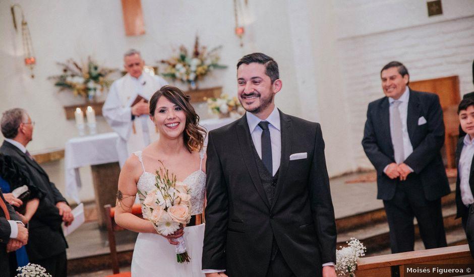 El matrimonio de Simón y Ana en La Reina, Santiago