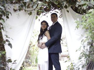 El matrimonio de Cristian y Lorena