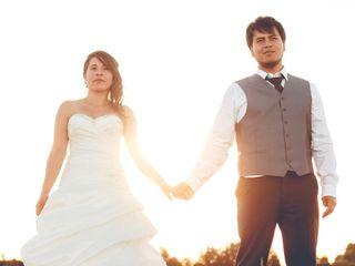 El matrimonio de Karina y Gino