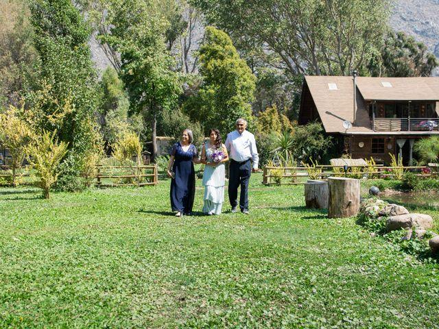 El matrimonio de Felipe y Brenda en San José de Maipo, Cordillera 11