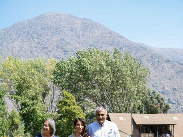 El matrimonio de Felipe y Brenda en San José de Maipo, Cordillera 12