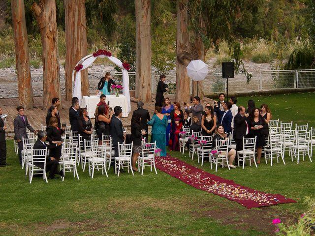 El matrimonio de Juan y Loreto en San José de Maipo, Cordillera 14