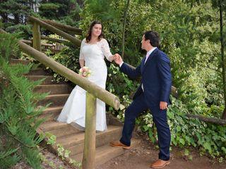 El matrimonio de Daniela y Alexis