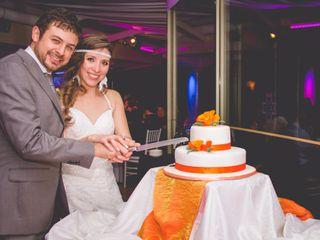 El matrimonio de Cote y Nacho