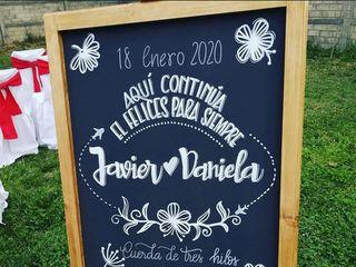 El matrimonio de Daniela  y Javier  3