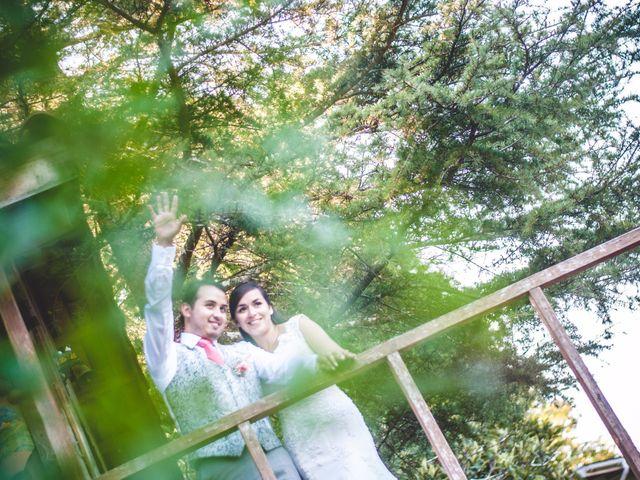 El matrimonio de Jocelyn y Mike