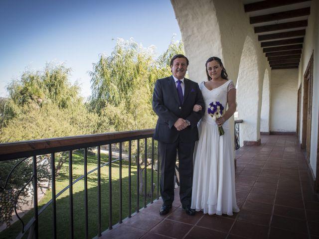 El matrimonio de Ricardo y Francisca en Casablanca, Valparaíso 1