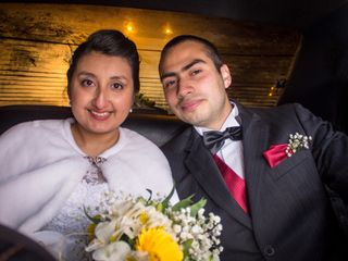 El matrimonio de Angie y Gonzalo