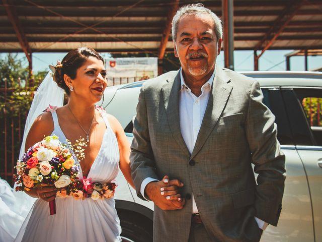 El matrimonio de Sebastián y Begoña en El Monte, Talagante 14