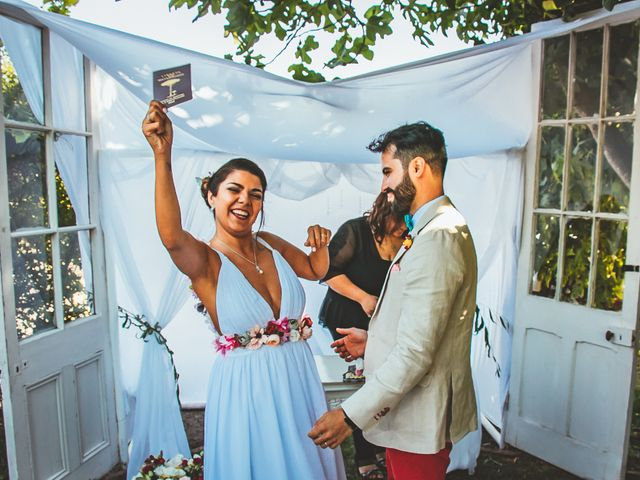 El matrimonio de Sebastián y Begoña en El Monte, Talagante 34