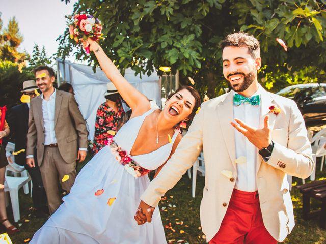 El matrimonio de Sebastián y Begoña en El Monte, Talagante 35