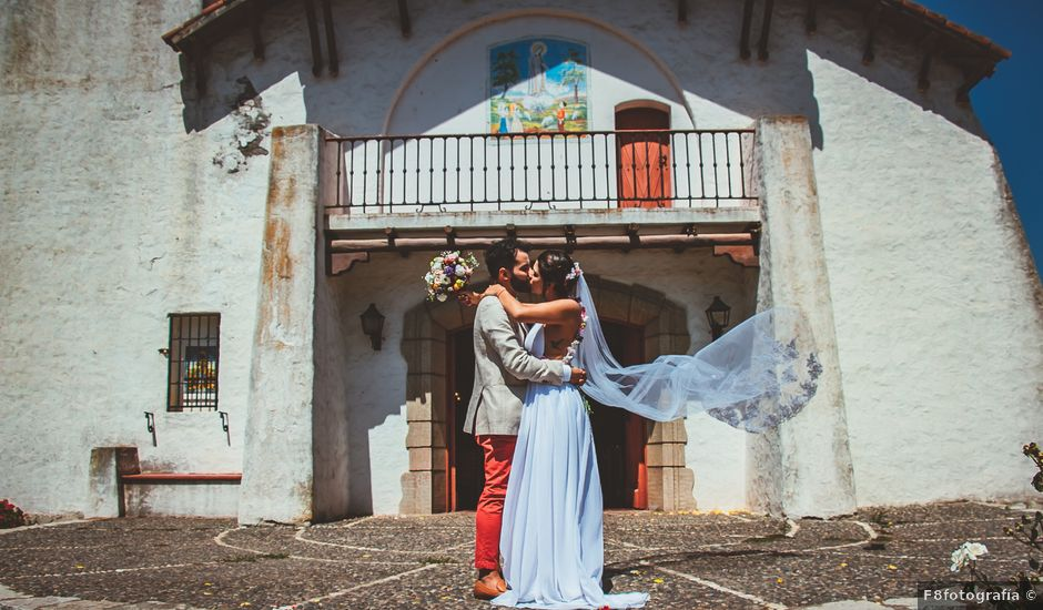 El matrimonio de Sebastián y Begoña en El Monte, Talagante