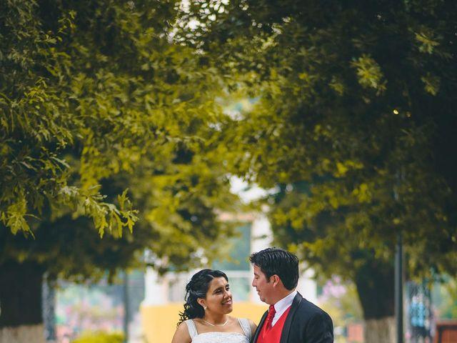 El matrimonio de José y Verónica en Teno, Curicó 2