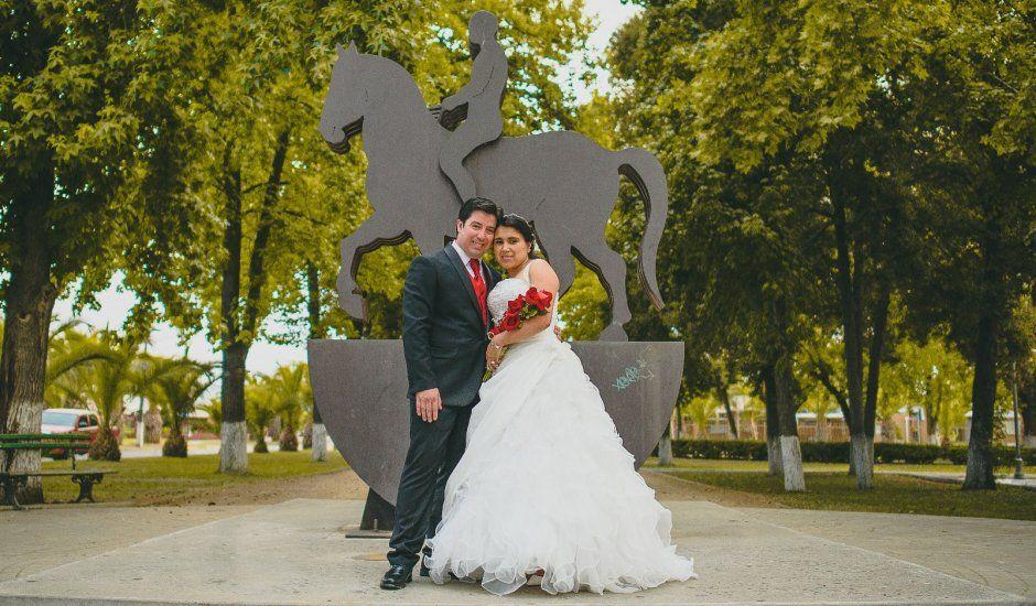 El matrimonio de José y Verónica en Teno, Curicó