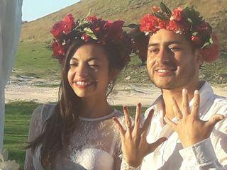 El matrimonio de Karen  y Israel
