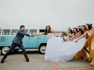 El matrimonio de Daniela  y Juan Andres