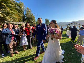 El matrimonio de Katherine y Carlos