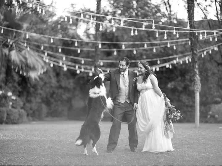 El matrimonio de Andrea y Cristobal