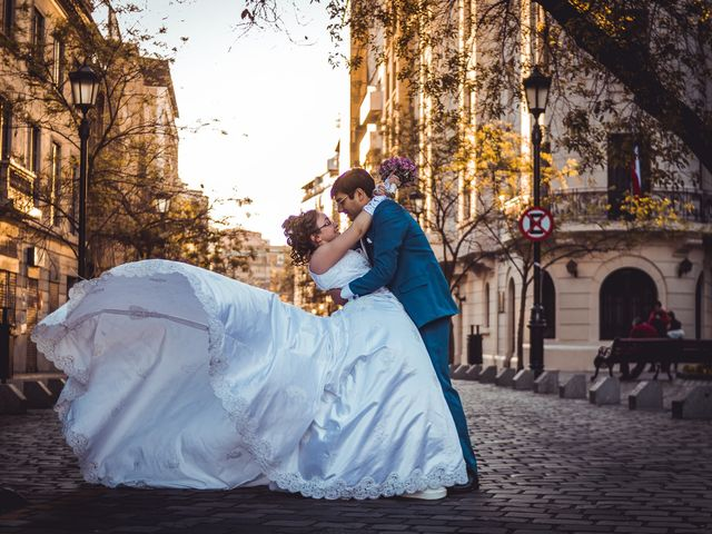 El matrimonio de Priscila y Nahum