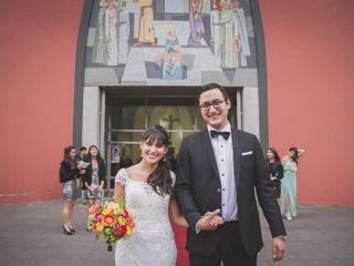 El matrimonio de María Paz y Miguel