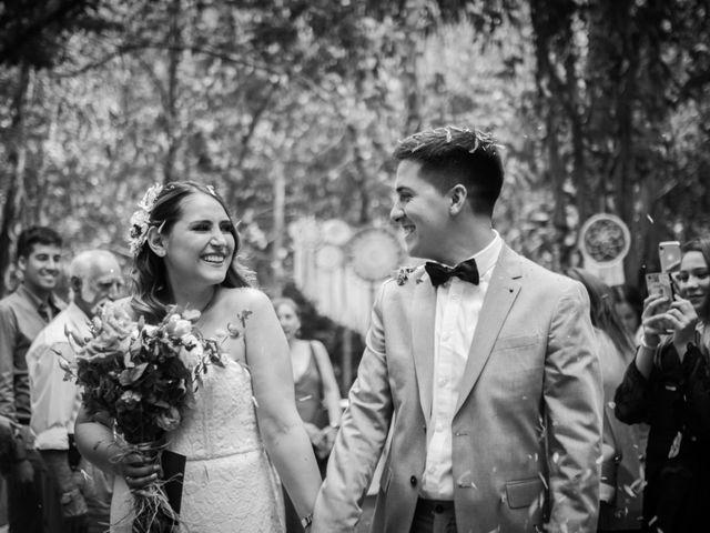 El matrimonio de Katherine y Helmuth