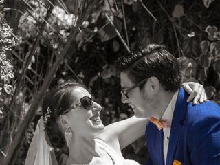 El matrimonio de Katia  y Luis  1