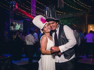 El matrimonio de Bernardita y Fabián