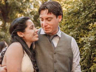 El matrimonio de Angie y Víctor
