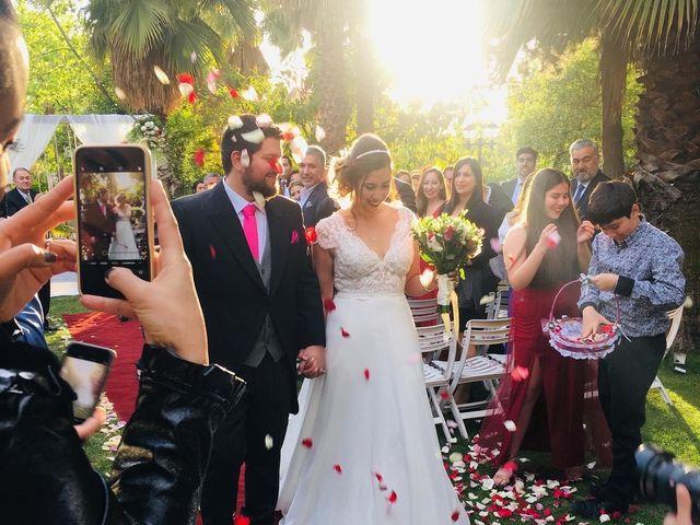 El matrimonio de Daniela  y Iván