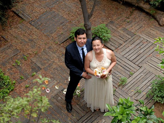 El matrimonio de Denise y Francisco