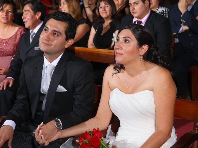 El matrimonio de Mariela y Cristian