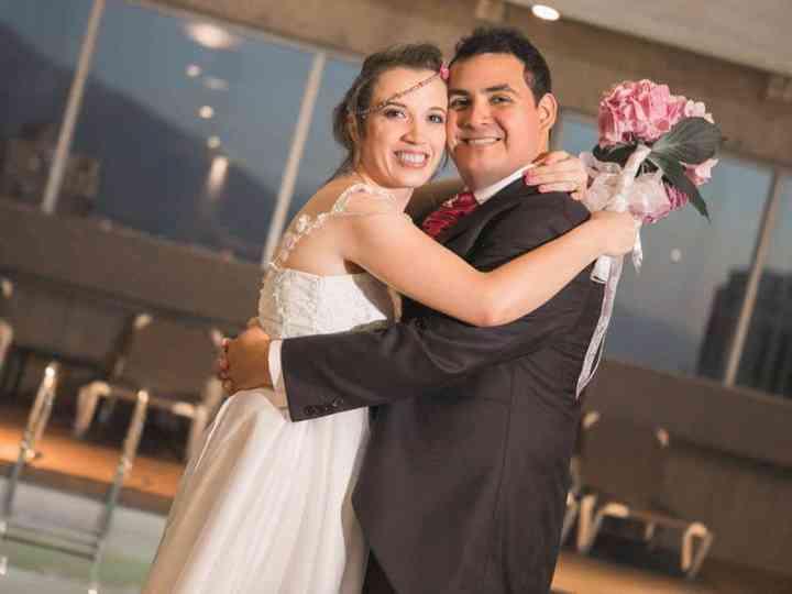 El matrimonio de Romina  y Gregorio
