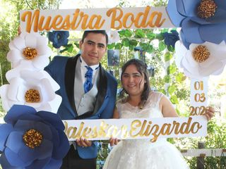 El matrimonio de Valeska y Elizardo