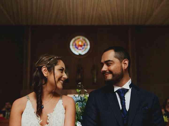 El matrimonio de  Raquel y Rodrigo