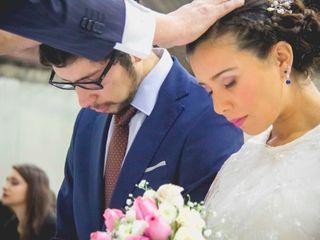 El matrimonio de Catalina y Diego