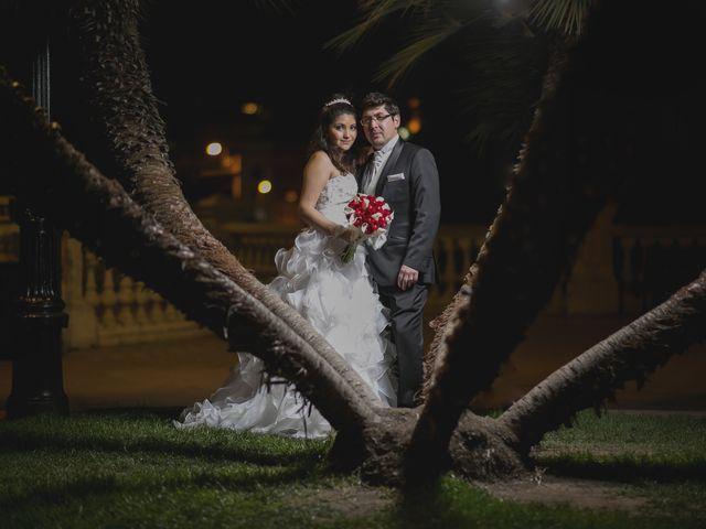 El matrimonio de Solange y Alexis