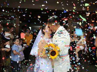 El matrimonio de Daniela y Sergio