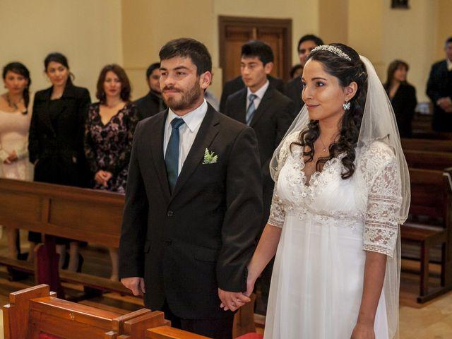 El matrimonio de Soledad y Matías