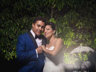 El matrimonio de Alexa y Solón