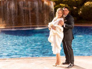 El matrimonio de Carlos y Marcia