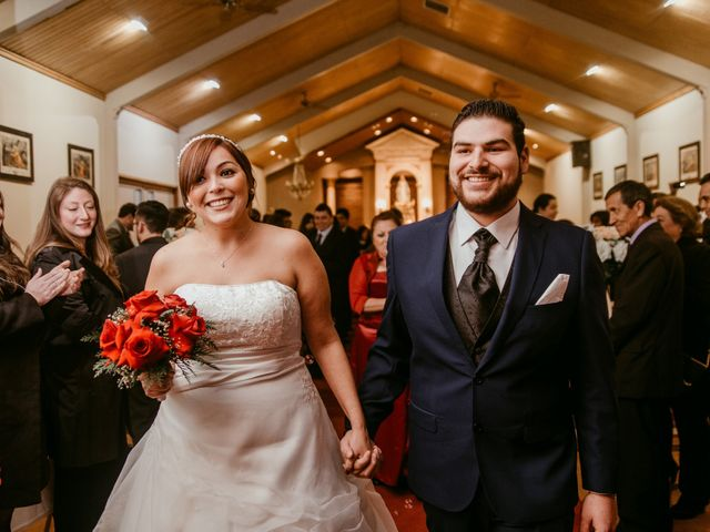 El matrimonio de Caty y Bastian