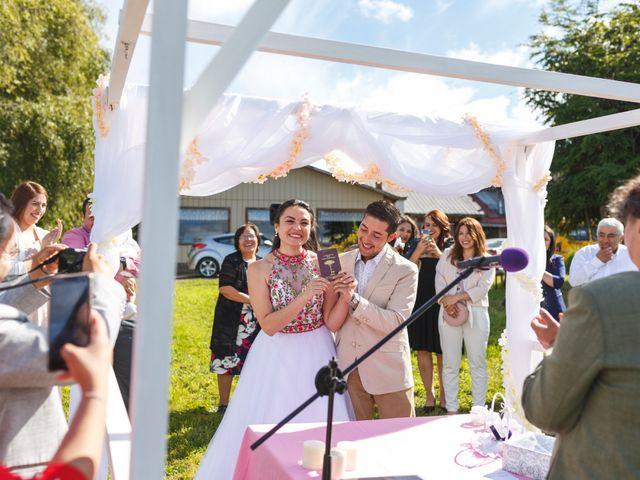 El matrimonio de Leo y Kati en Puyehue, Osorno 17