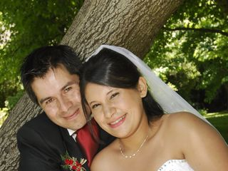 El matrimonio de Luis y Pamela