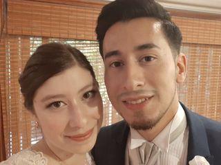El matrimonio de Evangelina y Jerson