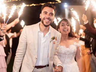 El matrimonio de Vale y Isra 1