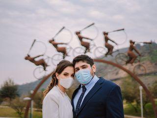El matrimonio de Verónica y Andrés